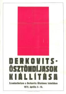 Plakát, 1972