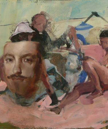 Féreglyuk 1648-ból 1863-baolaj,vászon,50x60 cm, 2012-14